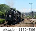 蒸気機関車 梅小路蒸気機関車館 SLの写真 11604566