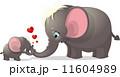 お母さん 動物 ぞうのイラスト 11604989