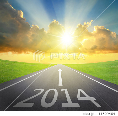 Forward to 2014 new year concept 11609464