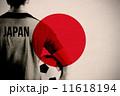 サッカー フットボール Japanの写真 11618194