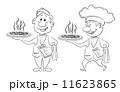 料理 ベクトル ピザのイラスト 11623865