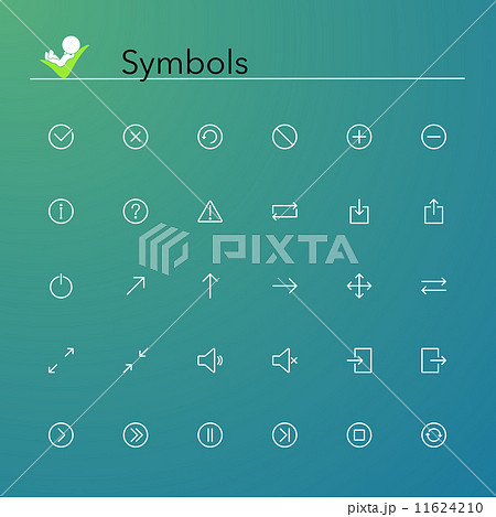 Symbols Line Icons 11624210