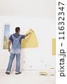 リヤビュー ペンキ塗り かべの写真 11632347