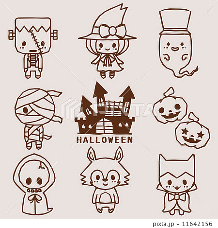 ハロウィン キャラクター 11642156