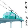 電車 列車 イラストのイラスト 11648399