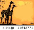 きりん キリン 麒麟のイラスト 11648771