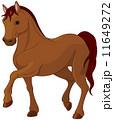 馬 純血種 イラストのイラスト 11649272