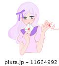 恋文 女の人 ラブレターのイラスト 11664992
