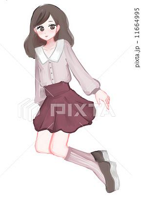 秋服のイラスト素材 11664995 Pixta