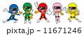 戦隊 ベクター 戦隊ヒーローのイラスト 11671246