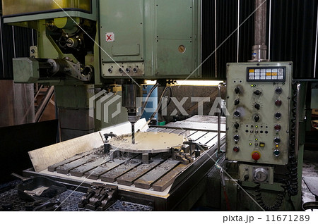 働く人 労働 町工場 金属加工 機械加工 職人 製造業 11671289