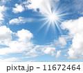 青空と太陽 11672464
