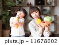 親子(野菜) 11678602