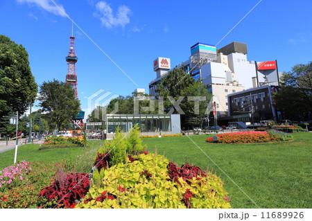 真夏の大通公園 11689926