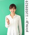 教える 人物 笑顔の写真 11689929