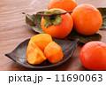 柿カット枝付き02 11690063