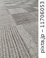 枯山水 砂利 小石の写真 11706053