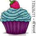 カップケーキ マンガ イラストのイラスト 11707021