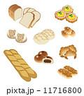 パン屋 ベクター パンのイラスト 11716800