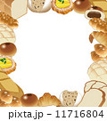 パン屋 ベクター パンのイラスト 11716804