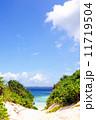 宮古島のビーチ 11719504
