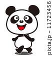 パンダ ベクター 笑顔のイラスト 11723456