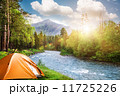camping in mountains 11725226