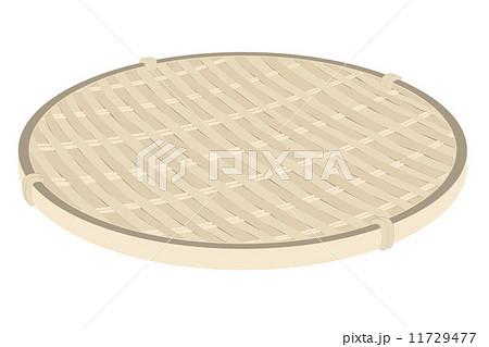 竹ざるのイラスト素材 11729477 Pixta