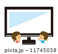 テレビを観る【二頭身・シリーズ】 11745038