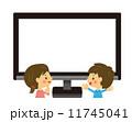 テレビを観る 11745041
