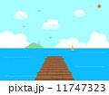 桟橋 11747323