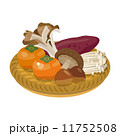 秋の味覚 秋 食材 11752508