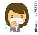 咳 風邪 くしゃみ  11762524