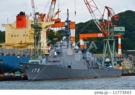 海上自衛隊の「護衛艦 こんごう(イージス艦)」(長崎港) 11773605