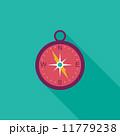 コンパス フラット 平のイラスト 11779238