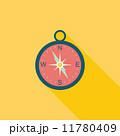コンパス フラット 平のイラスト 11780409