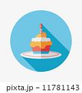 ミニマル カップケーキ コンセプトのイラスト 11781143
