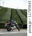 茶畑とオートバイ 11785645