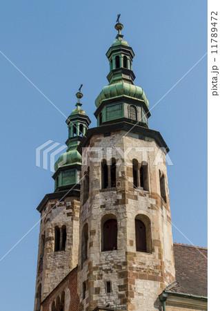 Romanesque church of St Andrew tower in Krakow built between 107 11789472