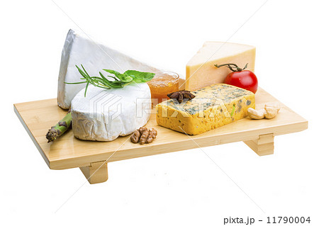 Variety cheese assortmentの写真素材 [11790004] - PIXTA