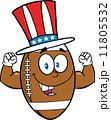 化身 アメリカ アメリカンフットボールのイラスト 11805532