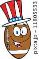 化身 アメリカ アメリカンフットボールのイラスト 11805533