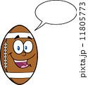 化身 アメリカ アメリカンフットボールのイラスト 11805773