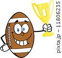 化身 アメリカ アメリカンフットボールのイラスト 11806235
