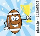 化身 アメリカ アメリカンフットボールのイラスト 11806505