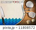 シーフード 海の幸 魚介類のイラスト 11808572