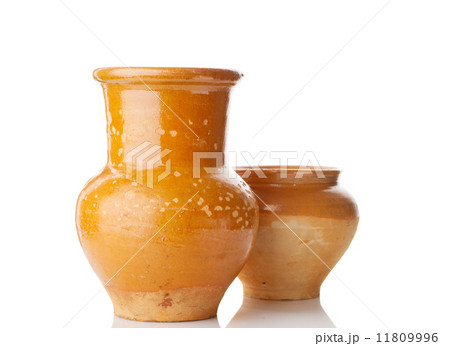 old jug and potの写真素材 [11809996] - PIXTA