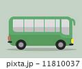 バス 乗り物 自動車のイラスト 11810037