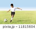 サッカー少年 11815604
