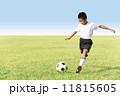 サッカー少年 11815605